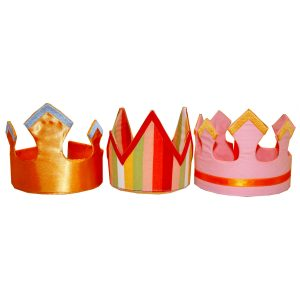 fabric crowns – imaginative toys