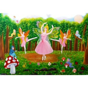 ballet jigsaw puzzle – wooden toys