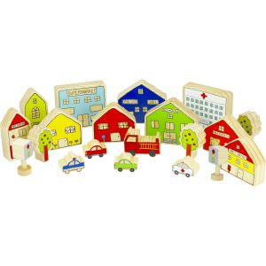 The village – Educational wooden toys
