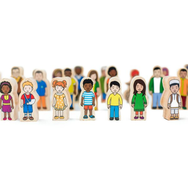 My families village people - wooden toys online