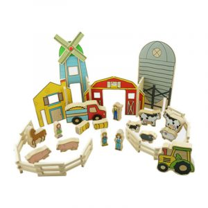 432 Happy Architect farm – best preschool educational toys