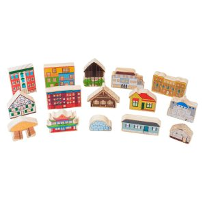 Shelters around the world – Educational wooden toys