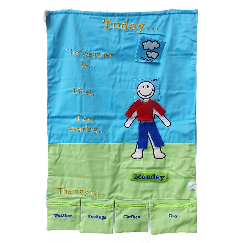 today's calendar - preschool toys