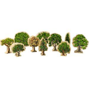 Australian trees – wooden toys