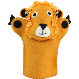 Lion puppet – toys for toddler