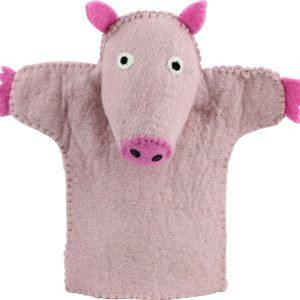 Pig puppet – toys for toddler