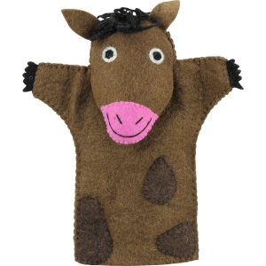 horse puppet – toys for toddler