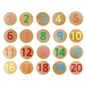 Numbers matching pairs – wooden educational toys
