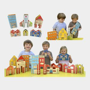 Happy Architect Town Pretend Play Educational Toy