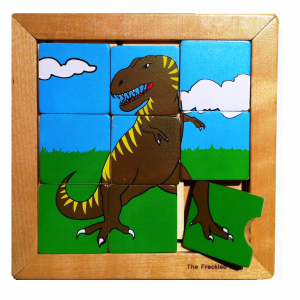 Educational-toys-for-Children-Dinosaur-sliding-puzzle