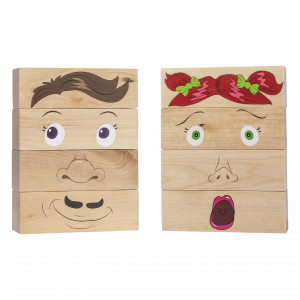 how am I feeling wooden blocks – learning toys