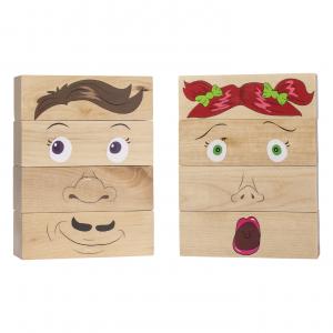 how am I feeling wooden blocks – learning toys