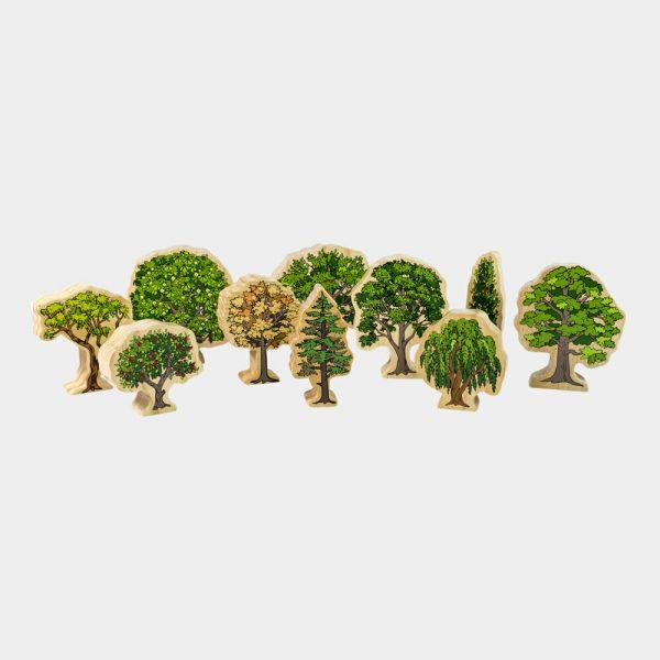Australian Wooden Trees