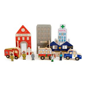 The Happy Architect Emergency wooden toys