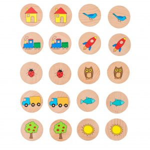 FF3010 Wooden Educational Toy Matching Pairs game (1)