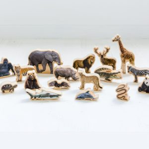 FF487 Wooden Animal Toys Educational Toys (4)