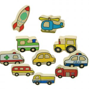 Village Vehicles – Wooden educational toys1