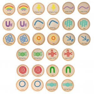 558 indigenous symbols