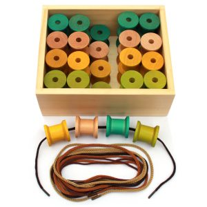 Wooden threading toy 440