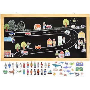 Tell-a-story Magnetic Chalkboard 2